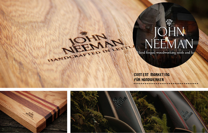 John Neeman Tools ist eine Erfolgsstory im Content Marketing für Handwerker