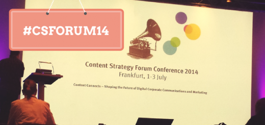 Das Content Strategie Forum hielt, was es versprochen hatte