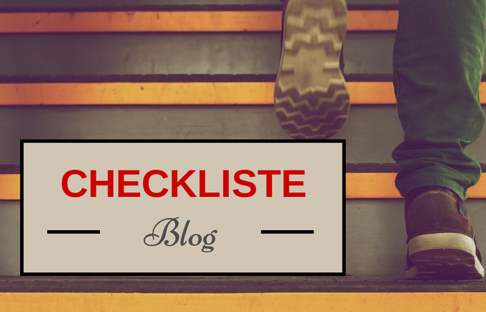 Die Content Marketing Checkliste für Ihren Blog