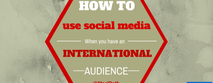 How to use social media with a multilingual following
