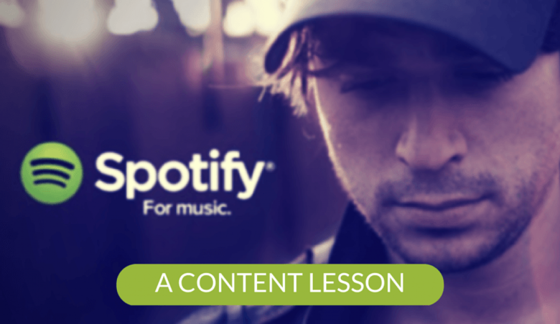 What Spotify can teach you about Content Marketing