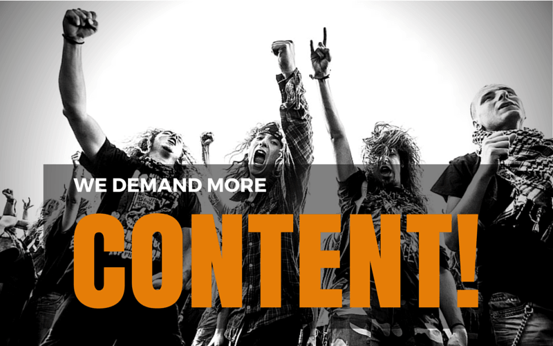 Content Marketing for musicians - Fans demand more content!