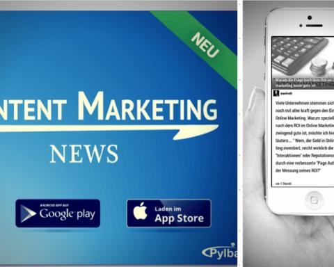 Content Marketing App für iOS und Android erschienen!