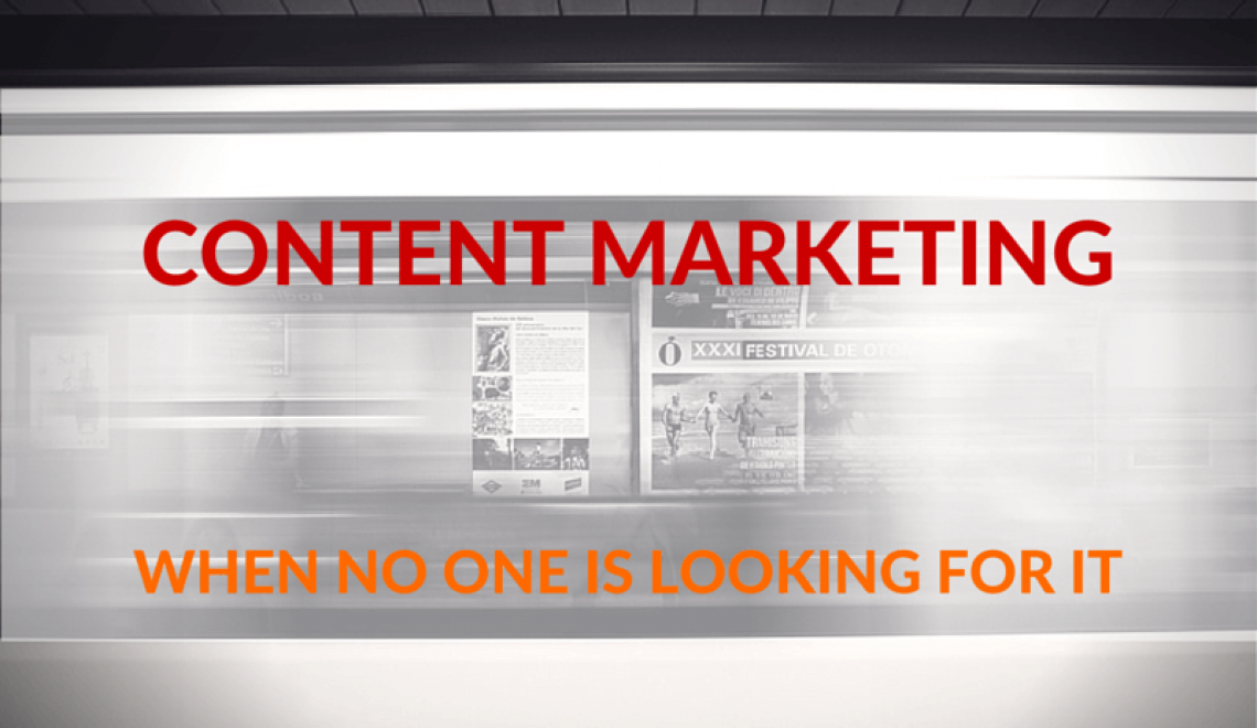 Content Marketing without SEO? 5 Things you can do when no one searches for your content