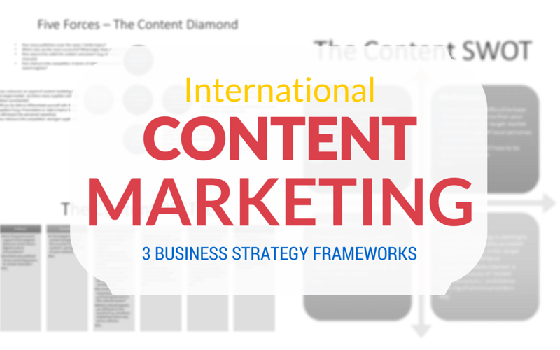 table of contents international marketing