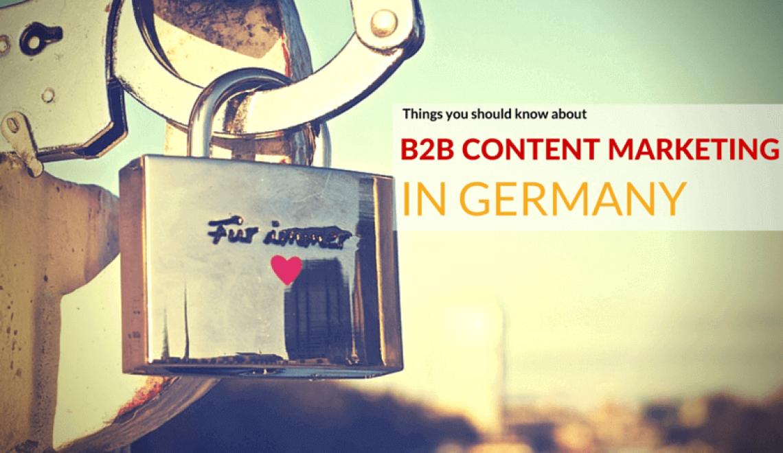 5 choses à savoir pour faire du content marketing B2B en Allemagne
