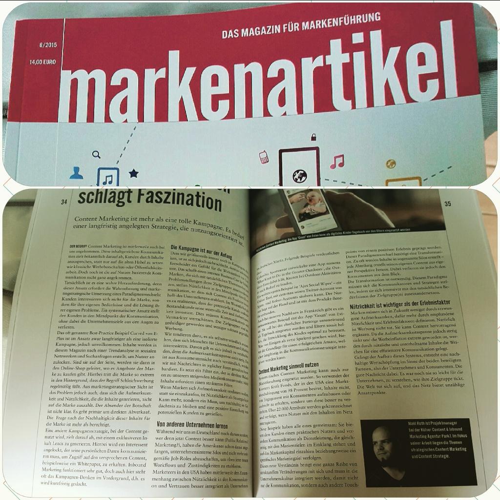 Markenartikel Magazin