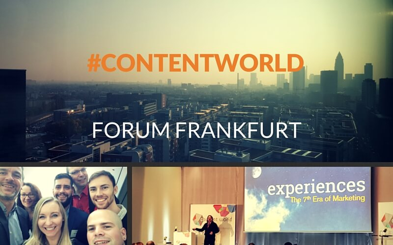 Recap zum Content World Forum 2015 in Frankfurt