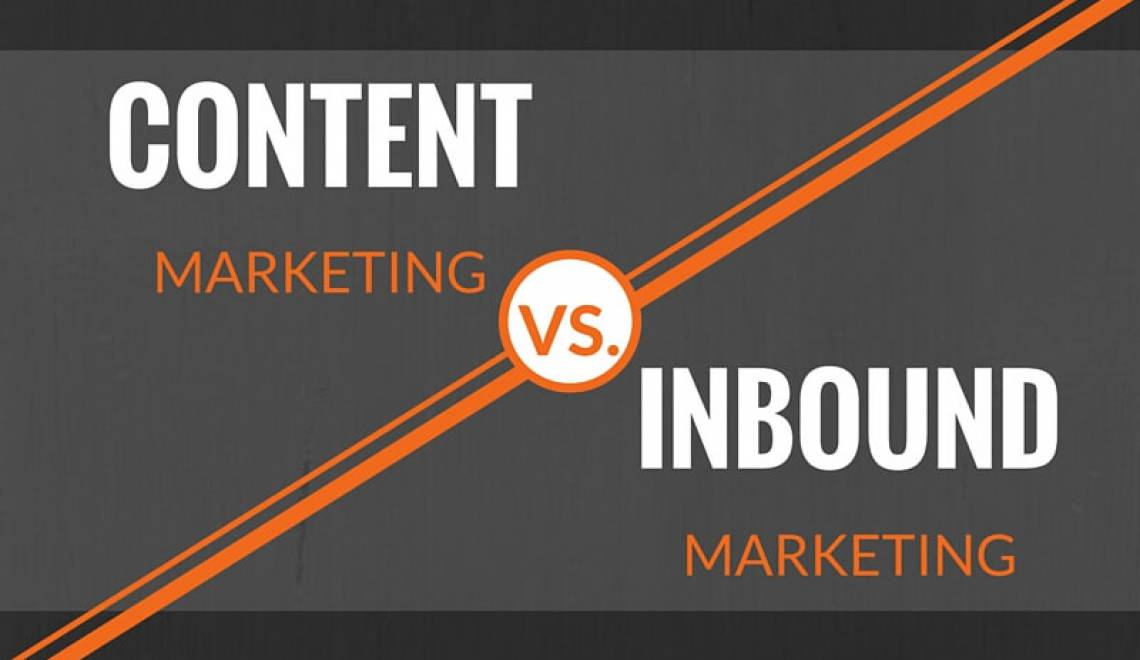 Der Unterschied zwischen Content Marketing und Inbound Marketing?