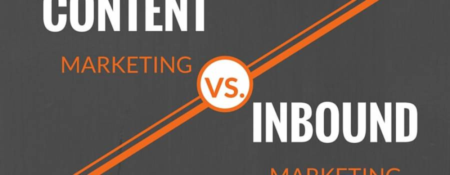 Der Unterschied zwischen Content Marketing und Inbound Marketing?