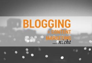 Was ist der Unterschied zwischen Blogging und Content Marketing?