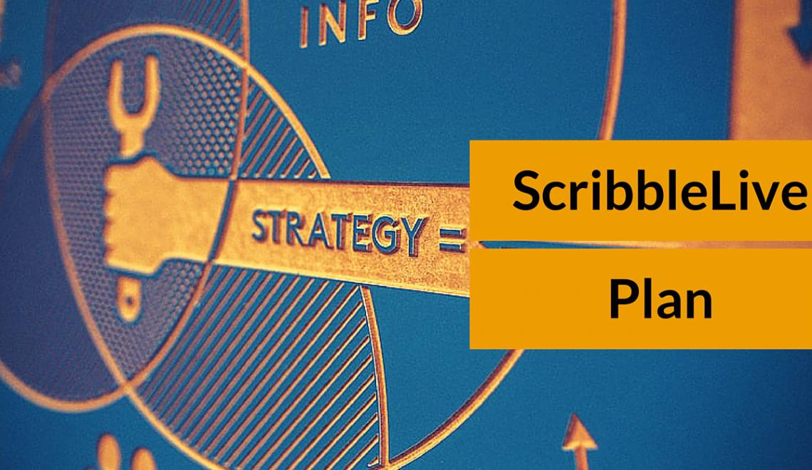 A powerful content marketing tool for handling content operations: ScribbleLive Plan