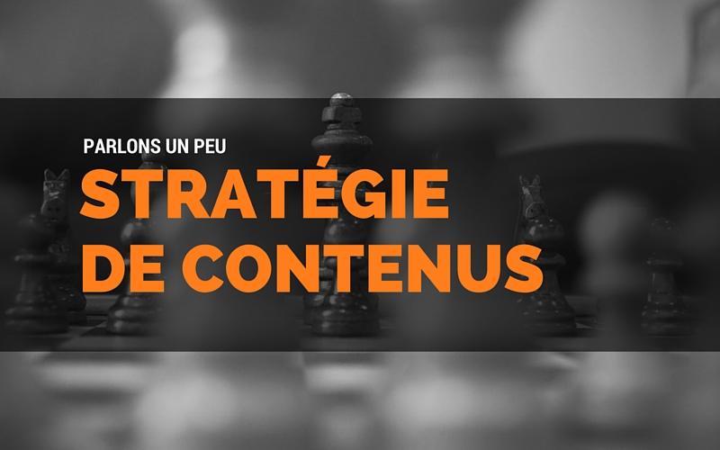 Stratégie de contenus