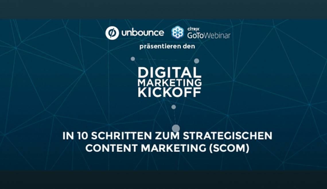 In 10 Schritten zum strategischen Content Marketing [Slides]