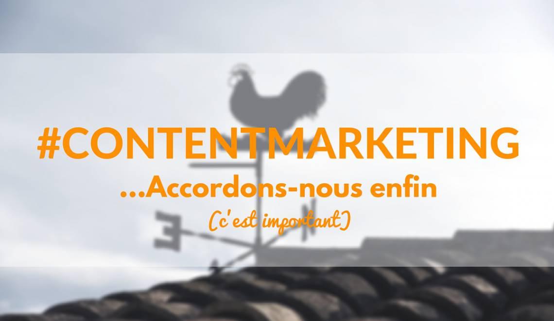 Le Content Marketing en France: Il est temps de tomber d'accord sur un terme