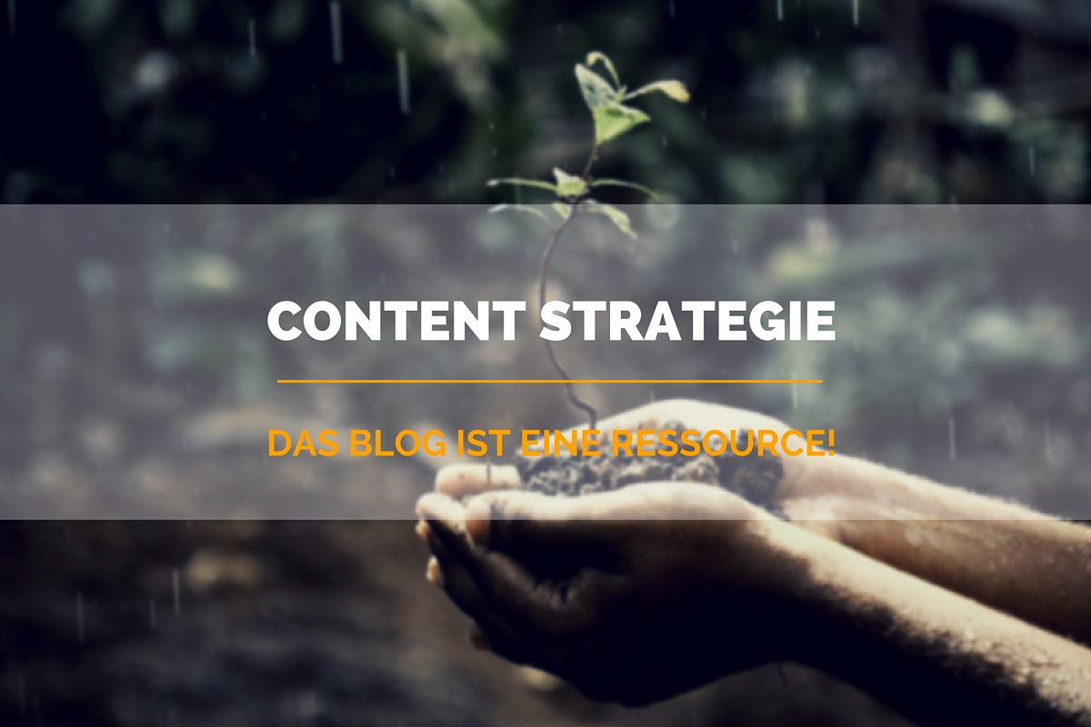 Die Rolle des Blogs in einer Content Strategie