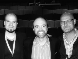 Joe Pulizzi, Mael Roth & Peter Van Dijk at Content Marketing Fast Forward