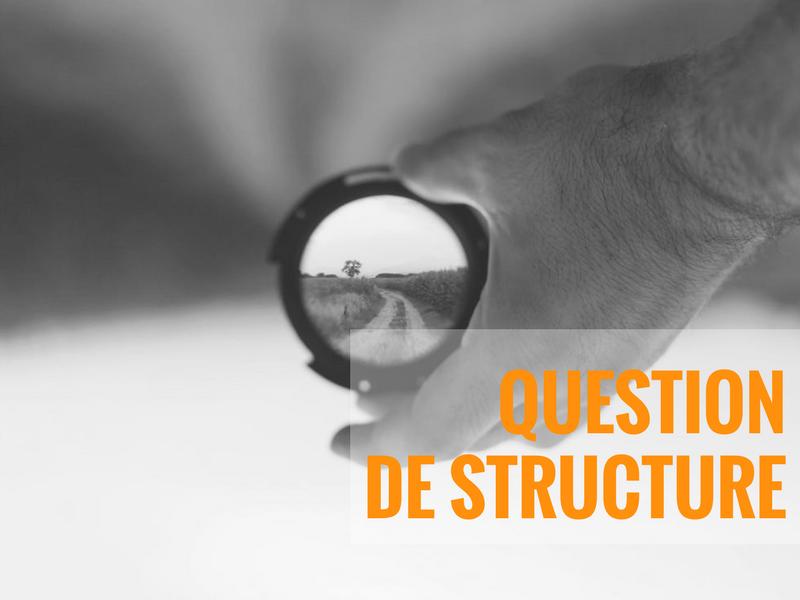Agir de facon stratégique: question de structure
