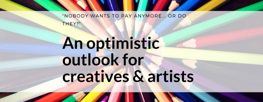 Is making money online for creatives and artists broken? Maybe not…