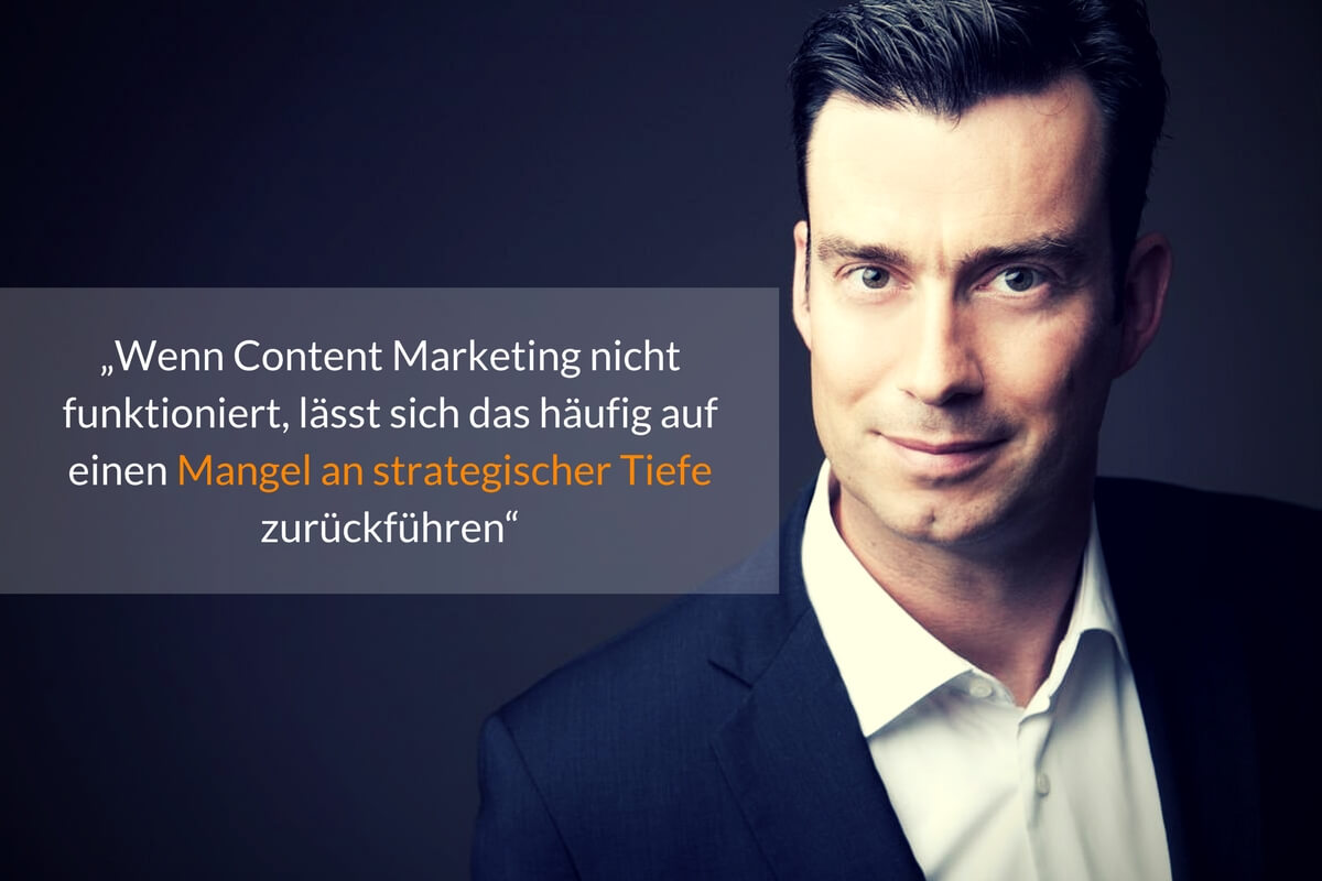 Marcus Bilgeri im Interview über Content Marketing